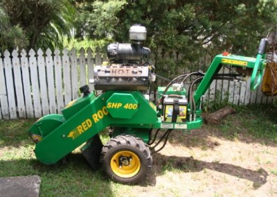 Bear Stump Grinding Services  with Red Roo  SHP 400