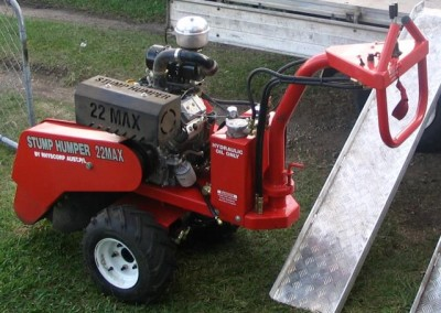 Bear Stump Grinding Services with  the Stump Humper  22MAX